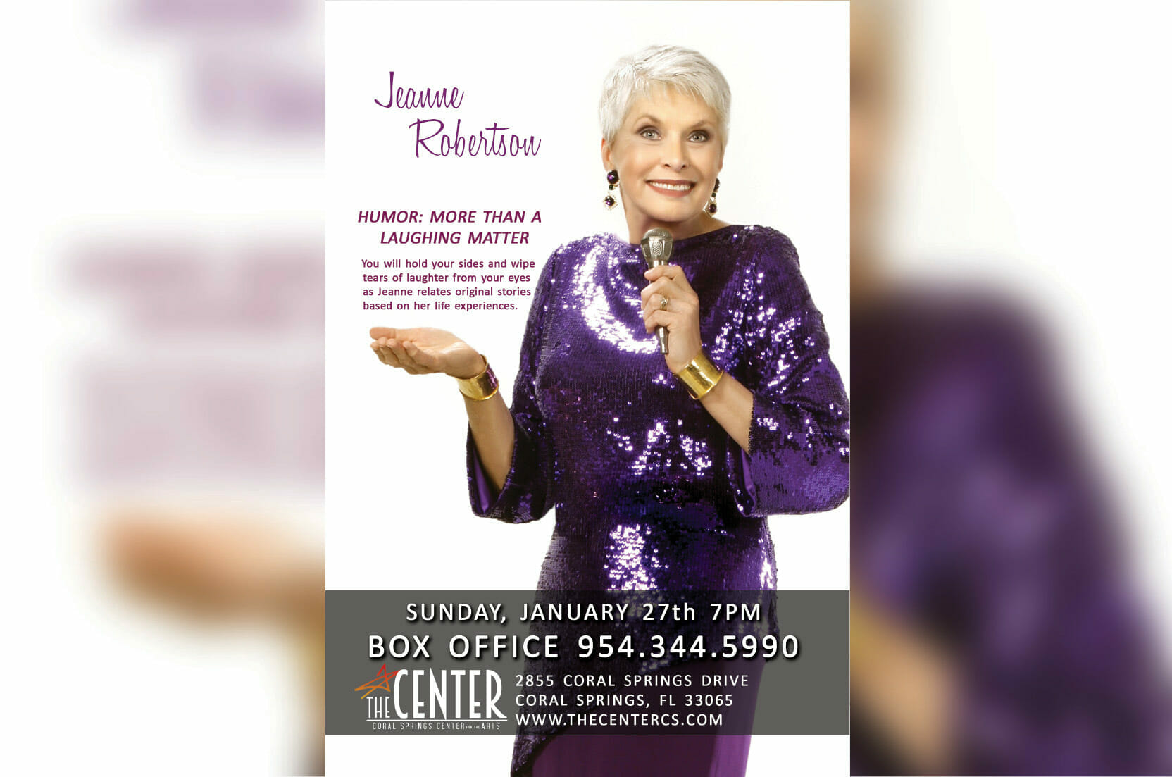 The Witty and Humorous Jeanne Robertson