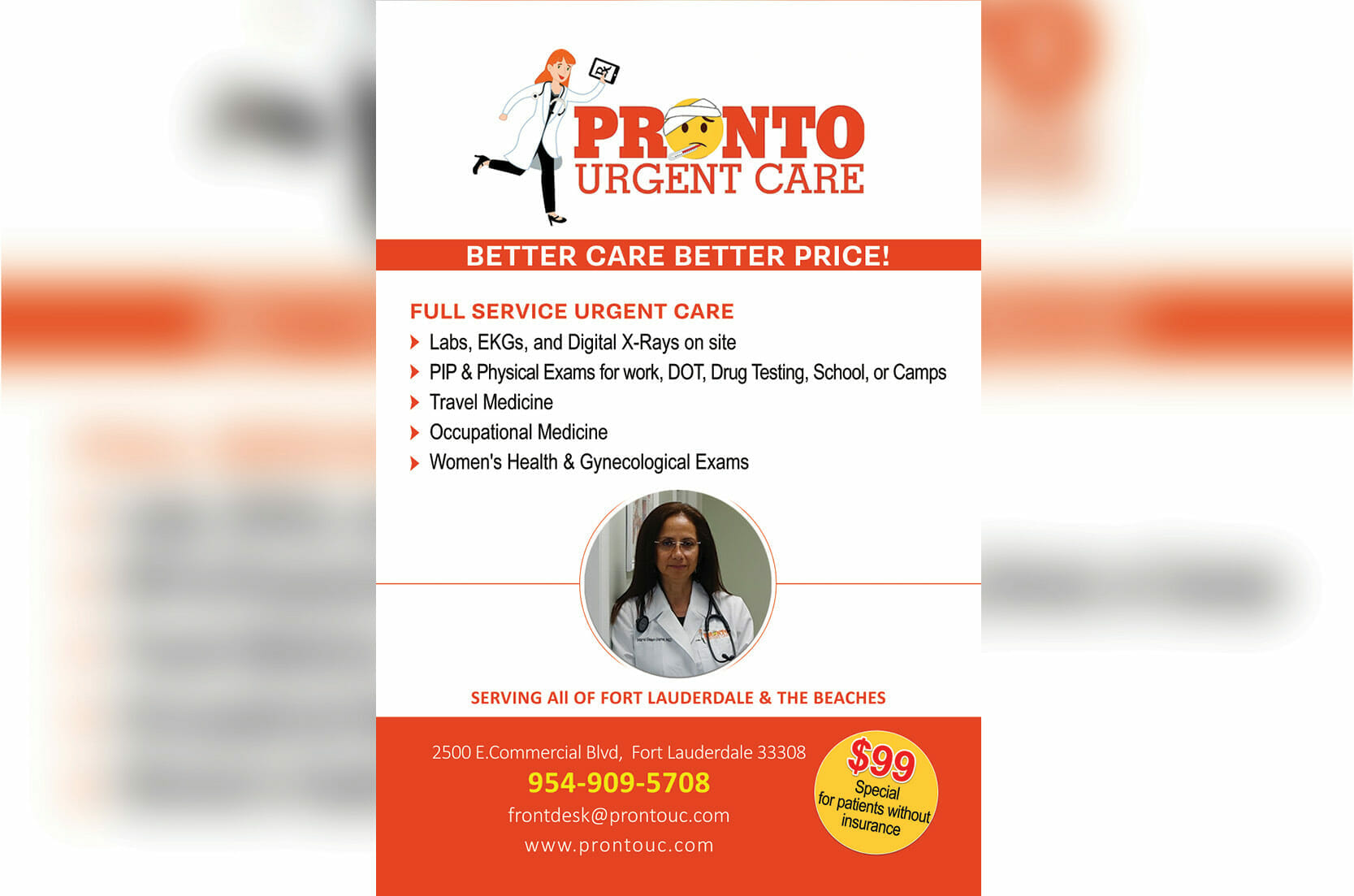 Get Your Urgent Care – Pronto!