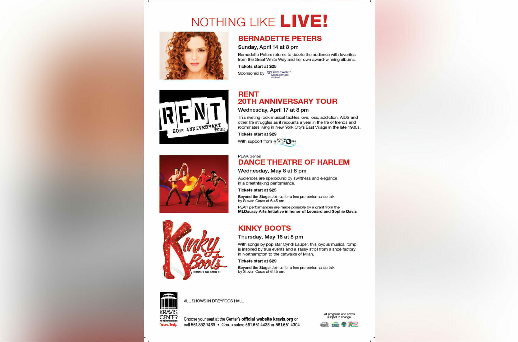 Read more about the article Hello, Bernadette Peters!