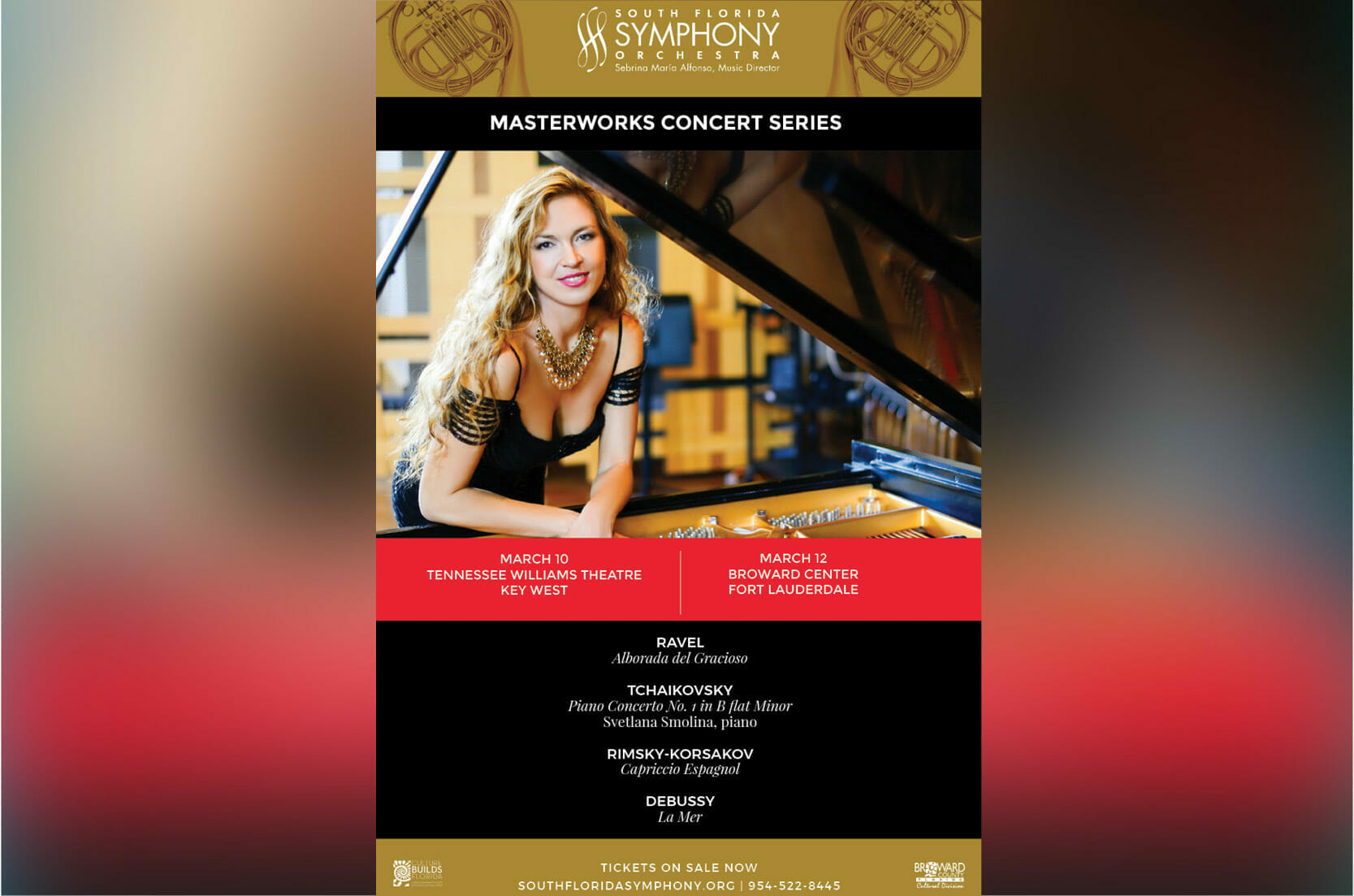 Read more about the article Svetlana Smolina's Return to the South Florida Symphony Orchestra