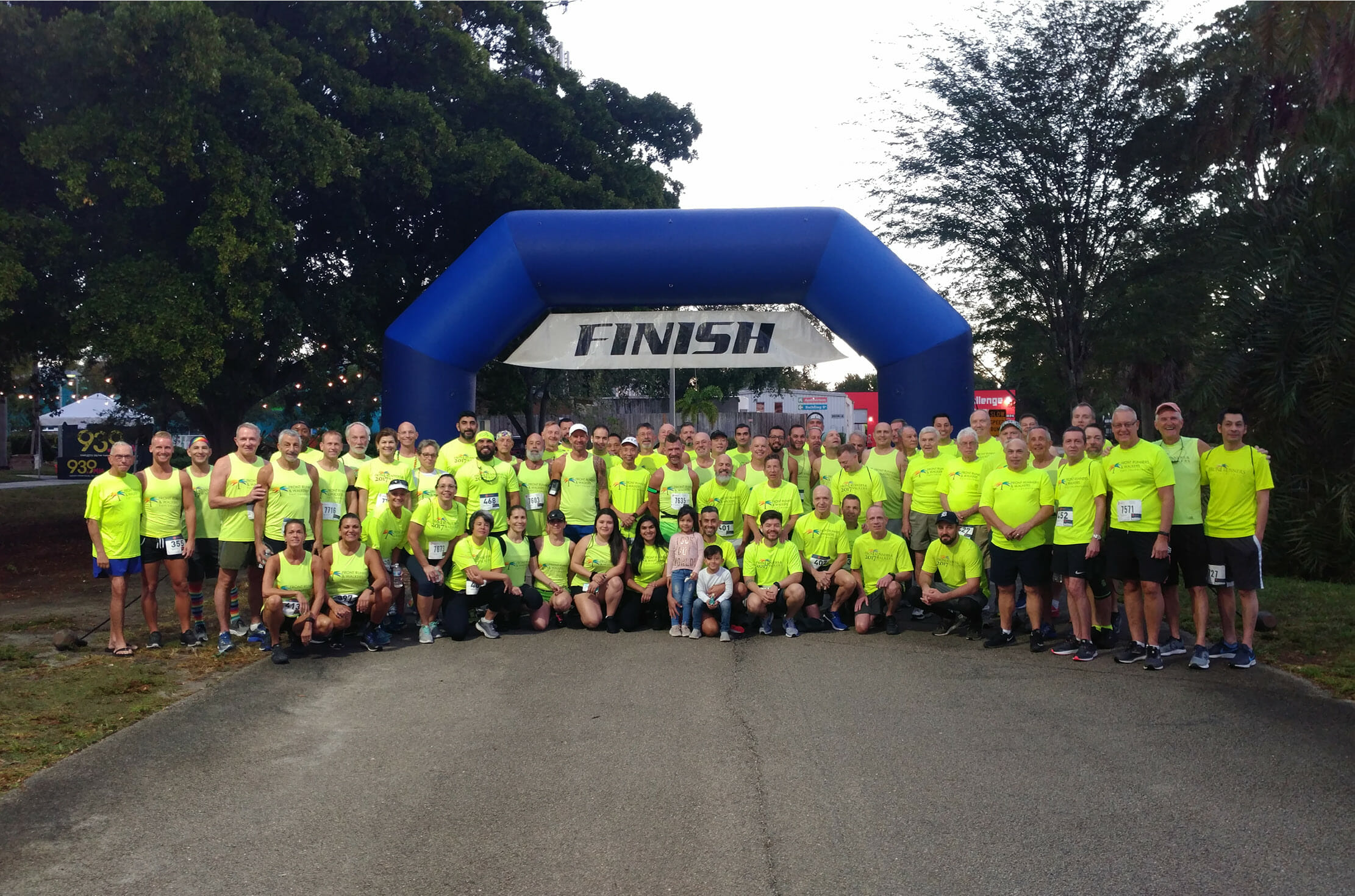 Front Runners & Walkers Mark 30th Year with Party