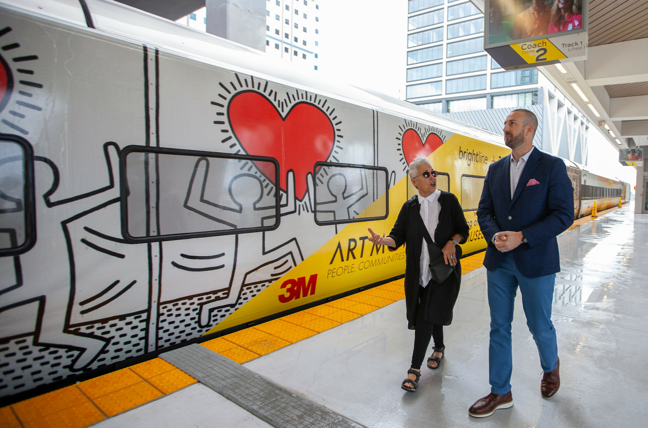 Images from Keith Haring's Iconic Work in Rubell Museum's Collection