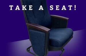 Take a Seat, Literally!