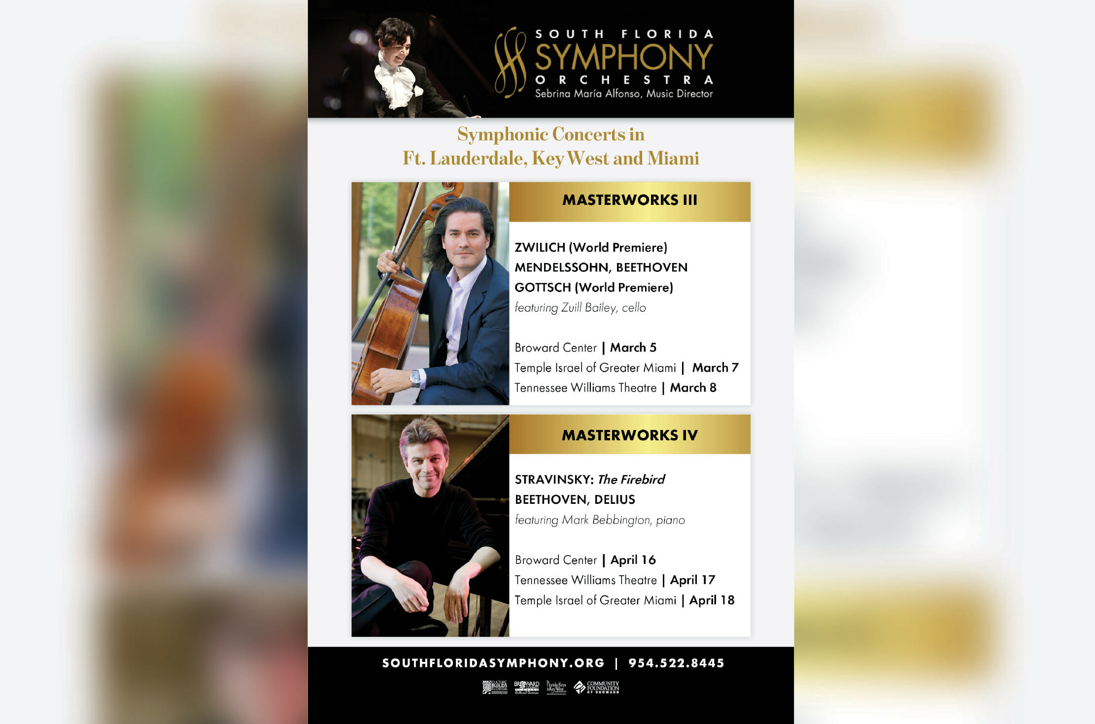 The South Florida Symphony Orchestra Welcomes Mark Bebbington