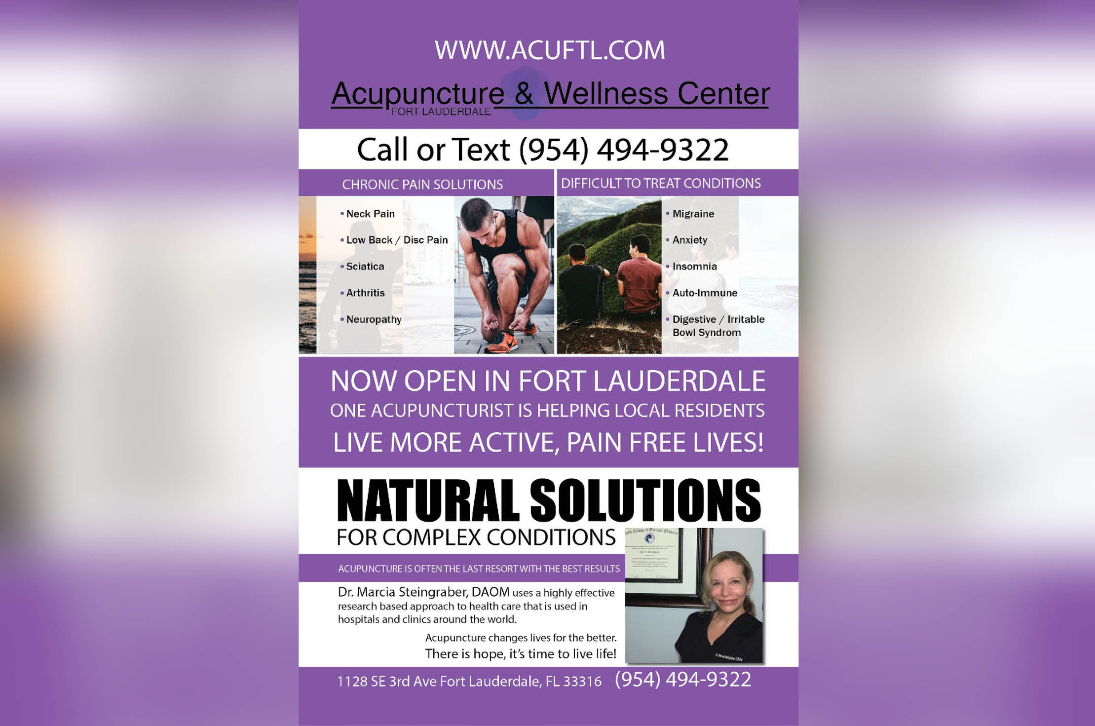 You are currently viewing Pinpoint Accuracy with South Florida's Newest Acupuncturist