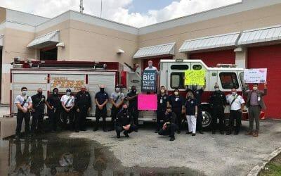 FMC Salutes City of Lauderhill Fire Rescue (Photo Courtesy of FMC)