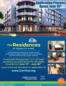 Read more about the article Application process for The Residences at Equality Park