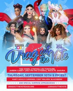 Read more about the article Dr Steven chats with Jackie from Drag Out the Vote