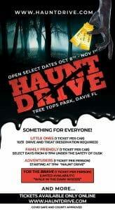 Thrill Seeking Haunt Drive Experience