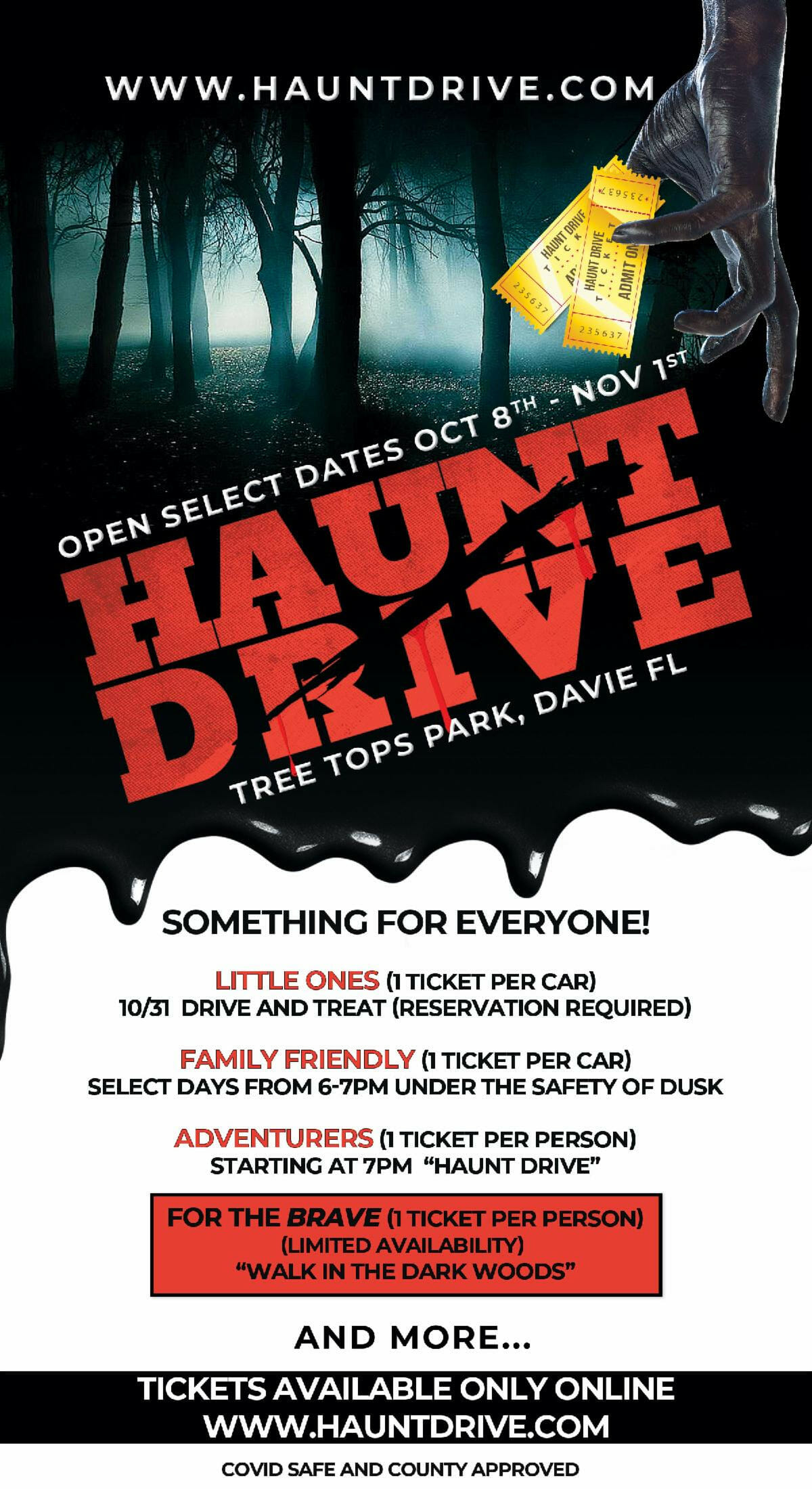 Thrill Seeking Haunt Drive Experience