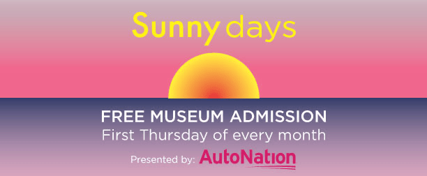 Sunny Days: Free all day admission to NSU Art Museum monthly on first Thursdays starts Oct 1