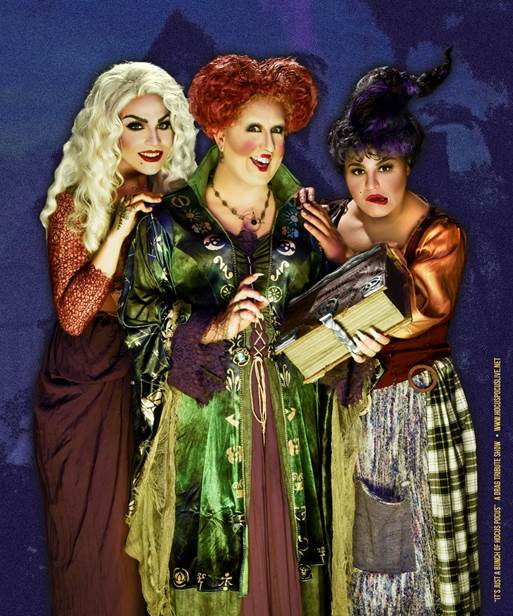 South Florida's favorite Halloween show, IT'S JUST A BUNCH OF HOCUS POCUS, returns to The Kelsey Theater in Lake Park for two nights of holiday fun on October 30 and 31.