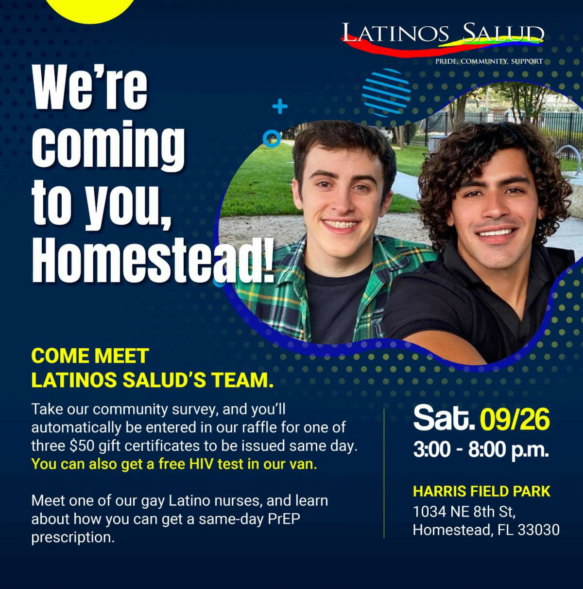 Latinos Salud – Comes to Homestead!