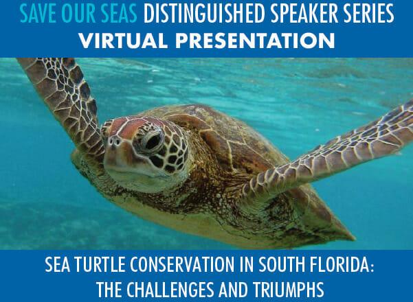 Save Our Seas Distinguished Speaker Series