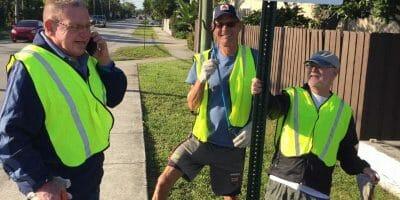 ADOPT- A- STREET QUARTERLY CLEAN-UP