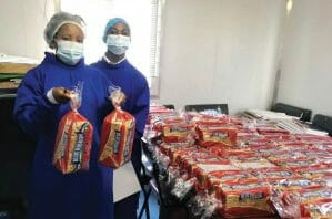 Bread and a Helping Hand to Lesotho
