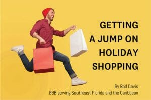 Getting a Jump on Holiday Shopping