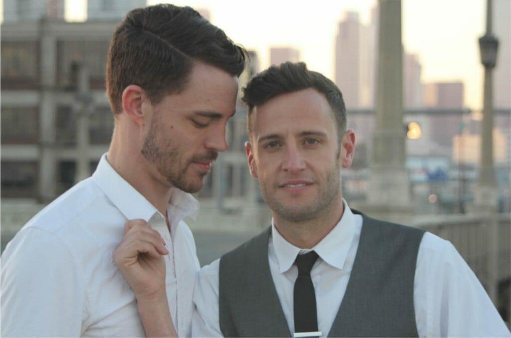 Branden James_Duo Photo LGBT