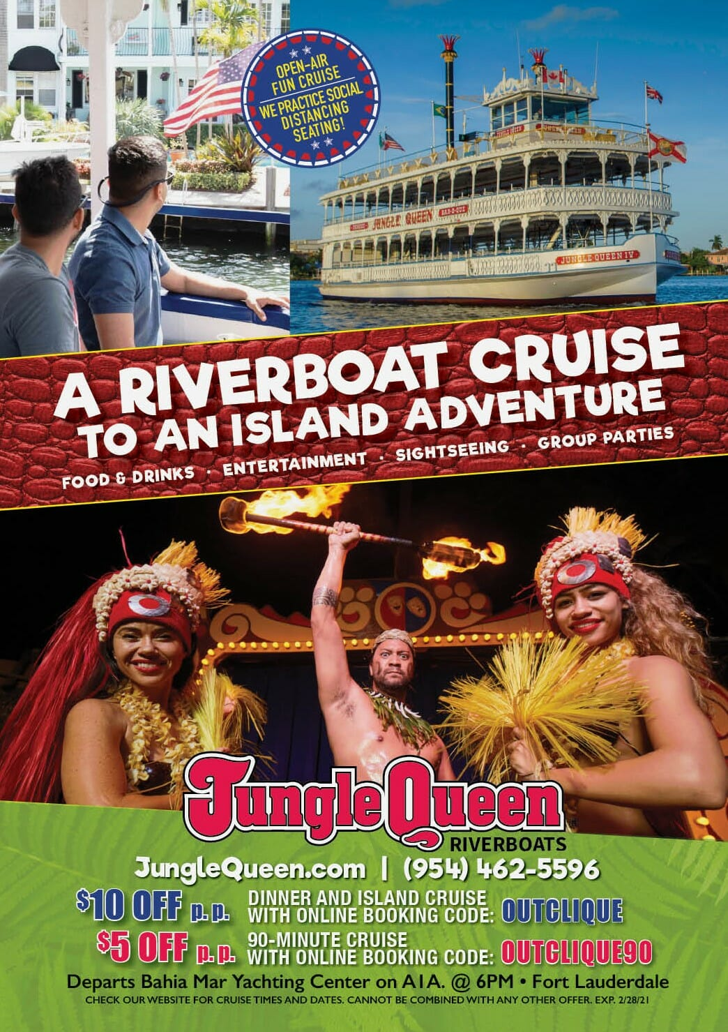 You are currently viewing Savings for Jungle Queen River Boats.
