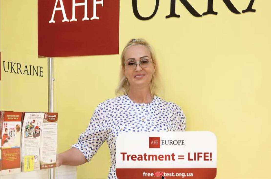 AHF Europe Celebrates 10 Years and 100,000 Clients in Care!_Ukrain