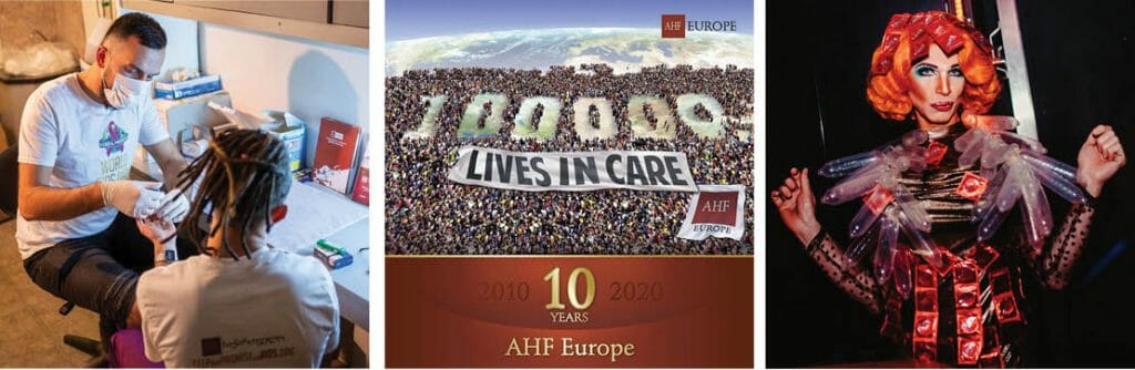 AHF Europe Celebrates 10 Years and 100,000 Clients in Care!