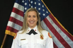Oakland Park Fire Rescue Promotes City's First Female Battalion Chief