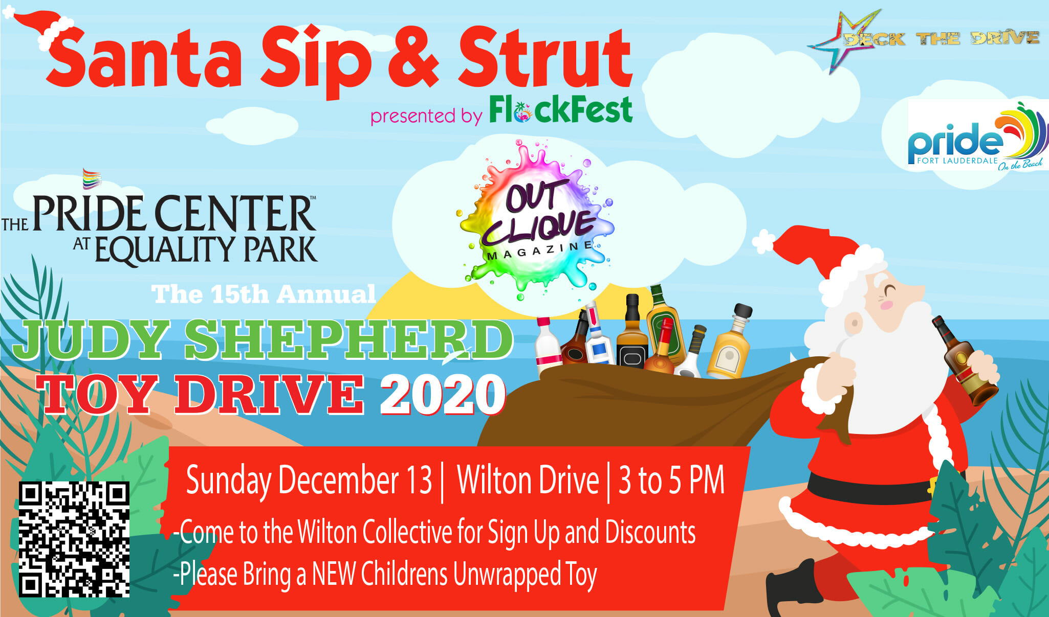 Santa Sip & Strut for Judy Shepherd Toy Drive