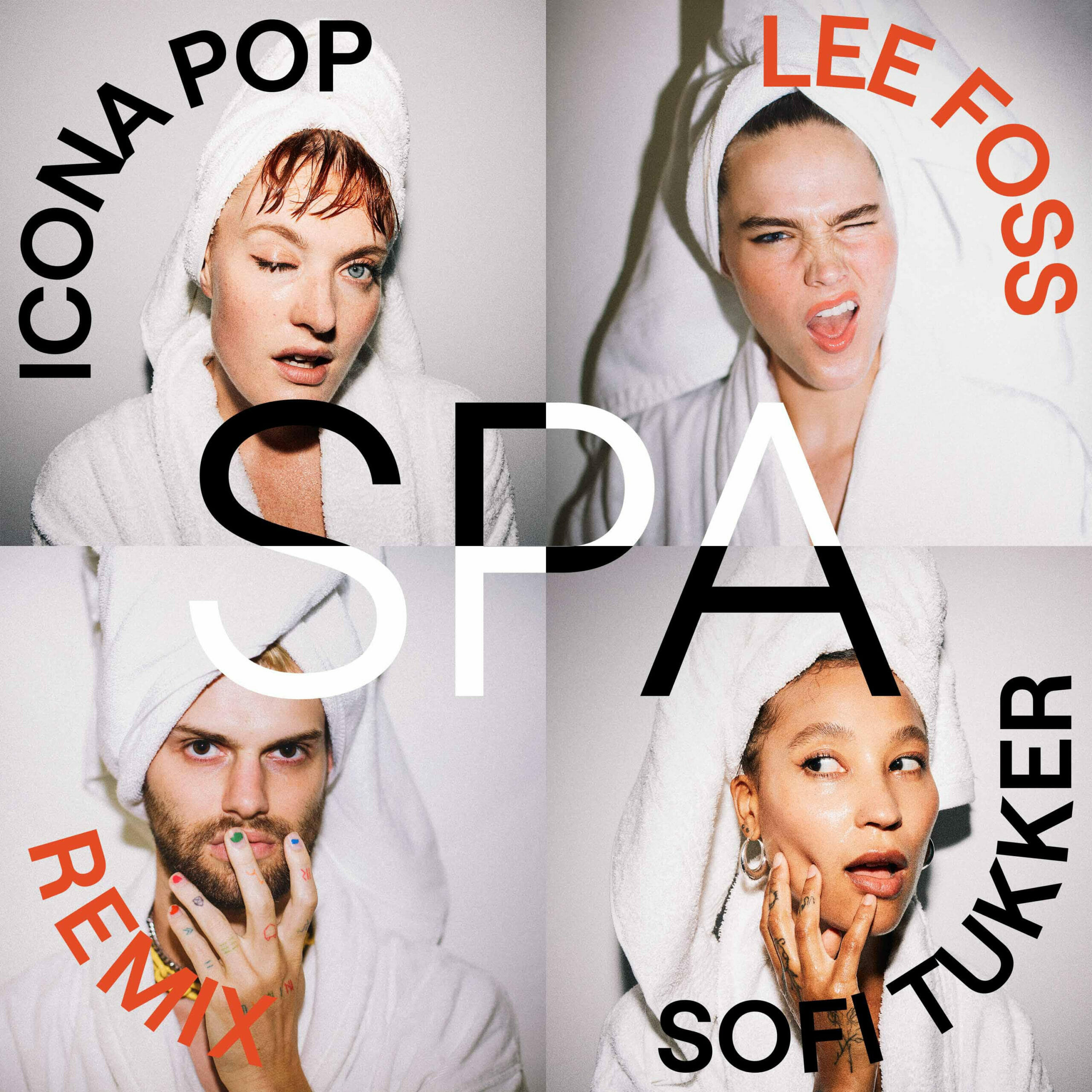 Icona Pop and SOFI TUKKER Release 'Spa (Lee Foss Remix)'