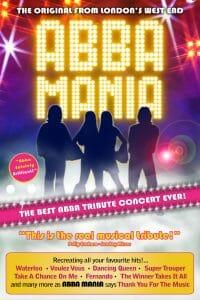 Coral Springs Center for the Arts is OPEN  and back with a favorite oldie, but a goodie — ABBA MANIA!