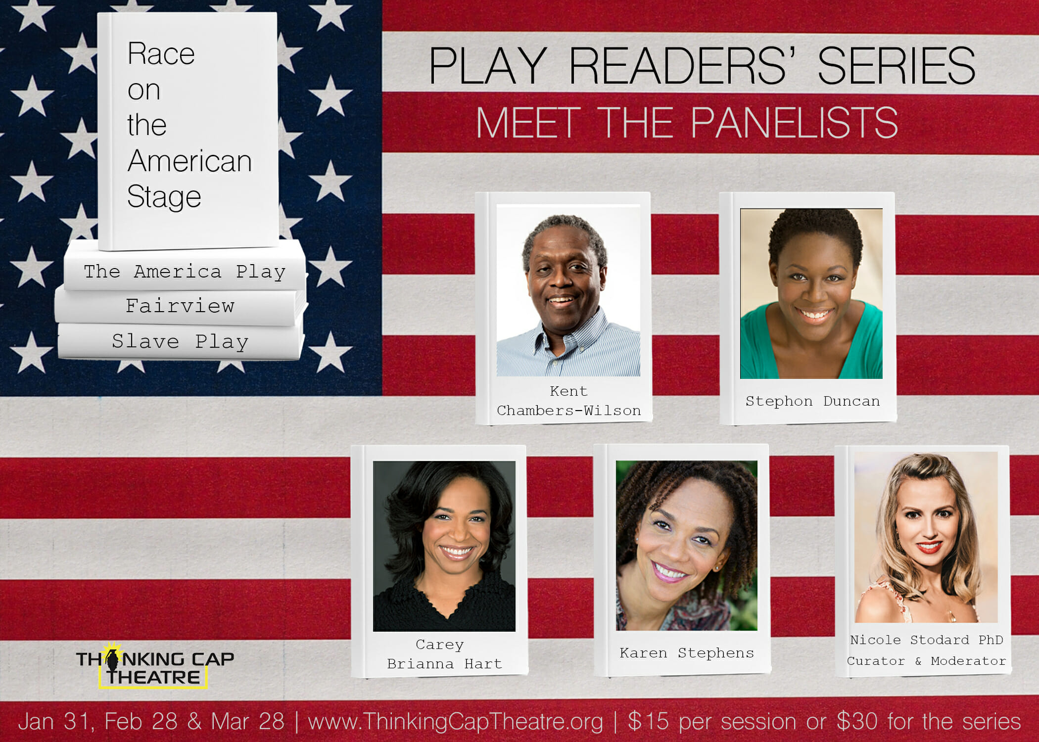 Thinking Cap Theatre: The Play Readers' Series: Race on the American Stage