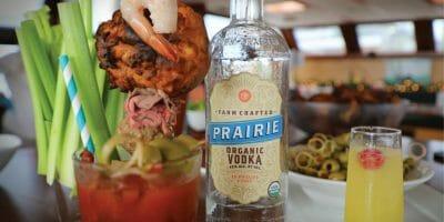 Argo Navis _ Vodaka Bottle and Shrimp cocktails
