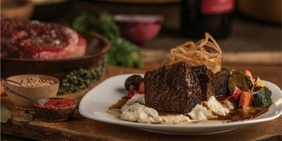 Coopers Hawk - Red Wine Briased Short Ribs