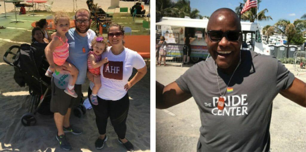 Florida AIDS Walk _ People