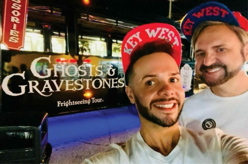 Ghost Tour KeyWest _ Steven and Dalton
