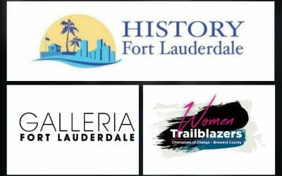 Logo collection of History Fort Lauderdale, Galleria and Women Trailblazers