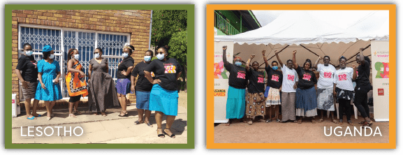 AHF_Women in Leadership_Lesotho & Uganda
