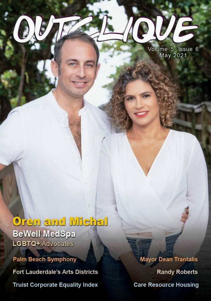 Out Clique Magazine cover _ May 2021 _ Be well Med Spa