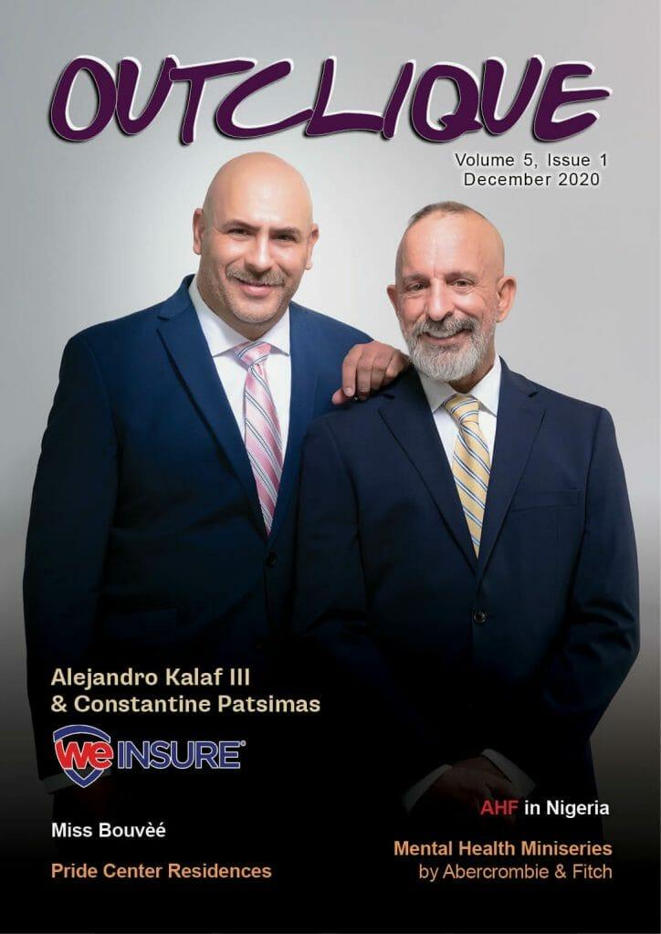 Out Clique Magazine cover _ December 2020 _ We Insure