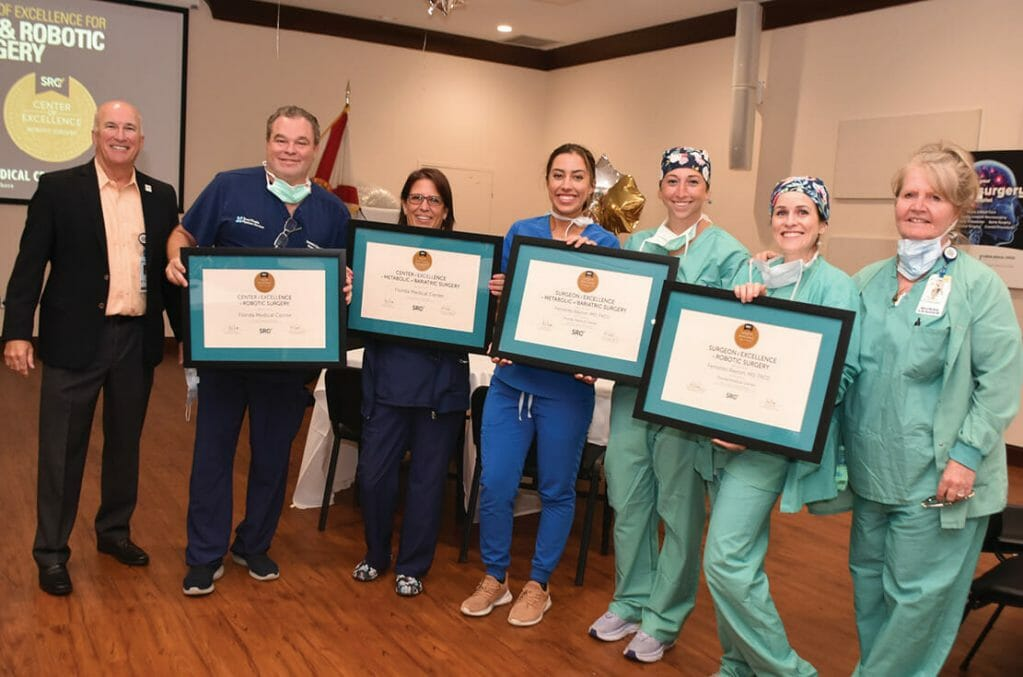 FMC_achieved Center of Excellence for Robotic and Bariatric Surgery