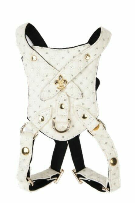 White Sparkle Harness