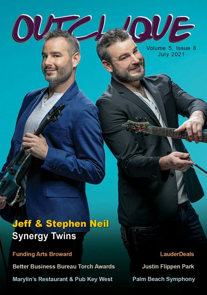 July 2021 Cover _ Jeff & Stephen Neil _ Synergy twins