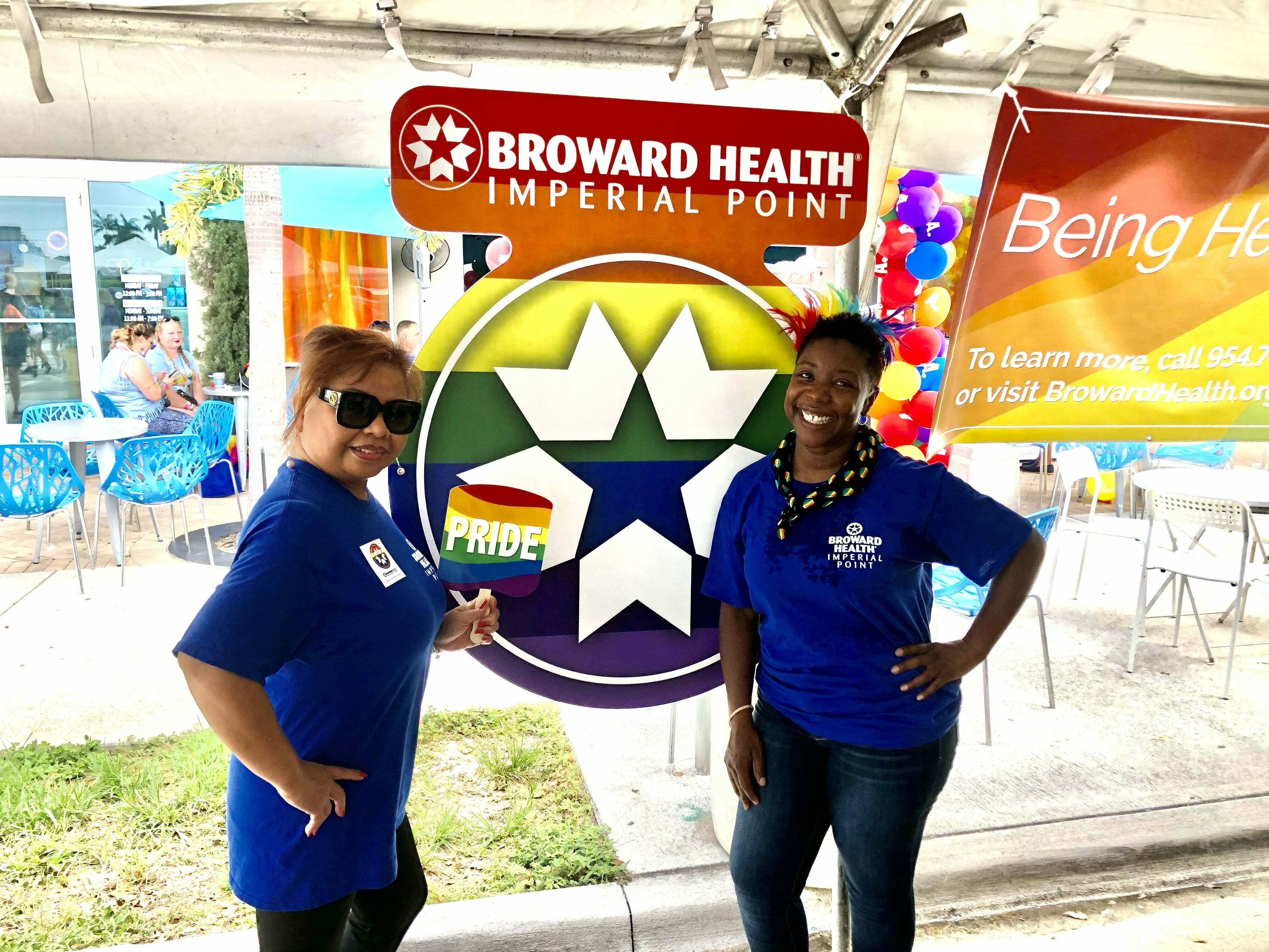 You are currently viewing Broward Health Imperial Point Supports LGBTQ+ Community at Stonewall Pride Parade and Street Festival