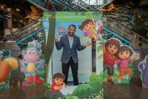 Read more about the article The Museum of Discovery & Science (MODS) held a ribbon cutting ceremony for its newest traveling exhibit Dora and Diego—Let's Explore!