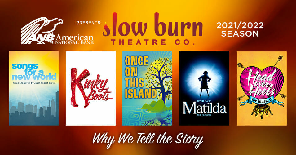 Read more about the article Slow Burn Theatre Company 2021/2022 Season