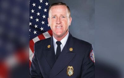 CoralSpringsFireDepartment _ Photo of Coral Springs Fire Chief Mike McNally in uniform