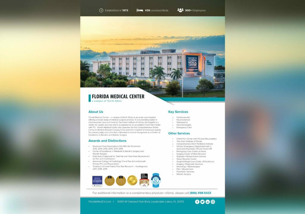 FL Medical Center- 08 19