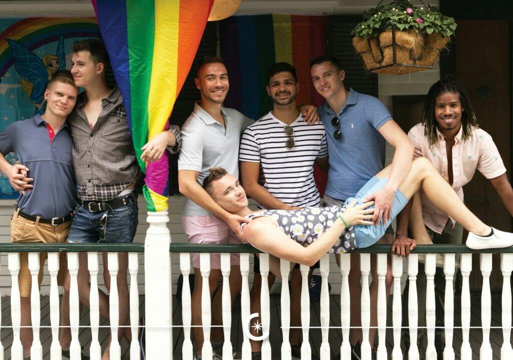 Vacaya Vacations_Ptown-Summer Jamboree_Photo of a group of guys